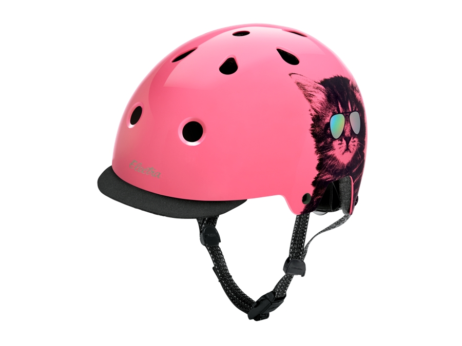 Electra Helmet Lifestyle Lux Cool Cat Small Pink CE
