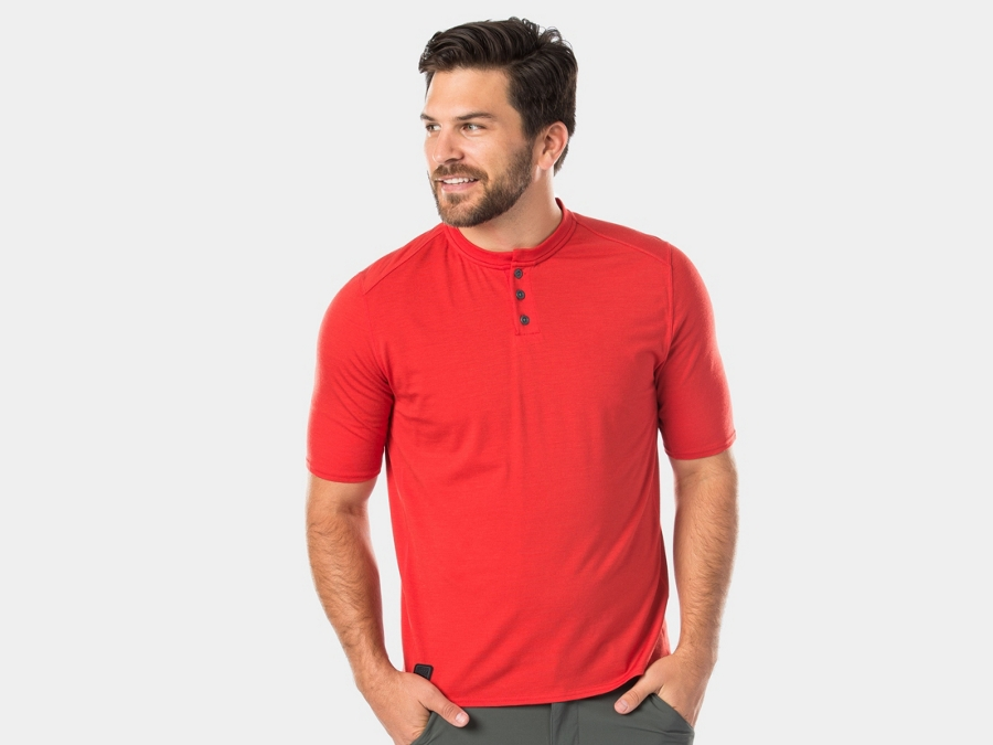 Bontrager Shirt Adventure Henley X-Large Mars Red