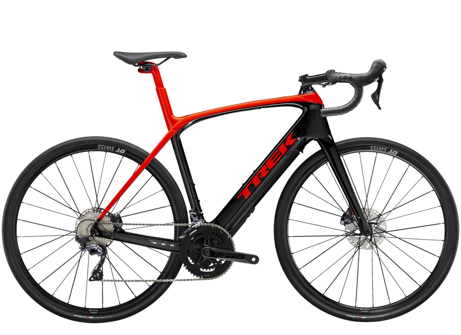Trek Domane+ LT 62 Radioactive Red/Trek Black